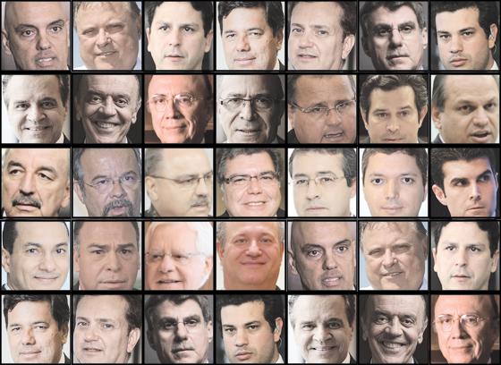 Ministros  (Foto: Época )