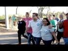 Rafael Diniz faz caminhada no Jardim Aeroporto em Campos, no RJ