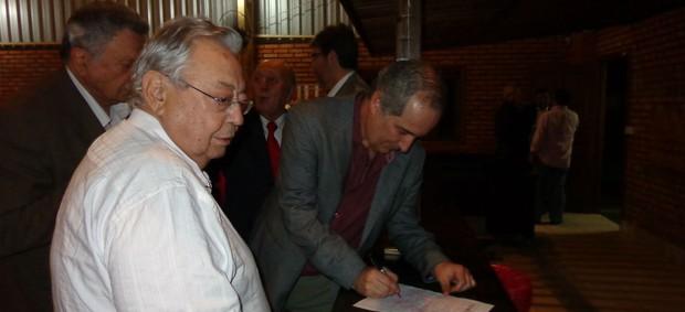 luigi presidente inter eleição (Foto: Diego Guichard/Globoesporte.com)
