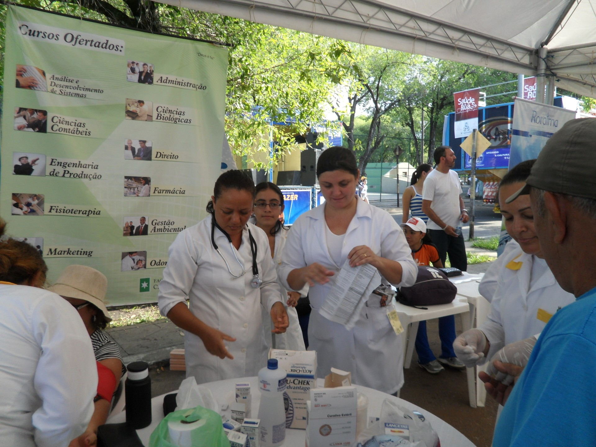 Saúde de Rua será no sábado (27), em frente a Tv Roraima, a partir das 13h (Foto: TV Roraima/ Divulgação)