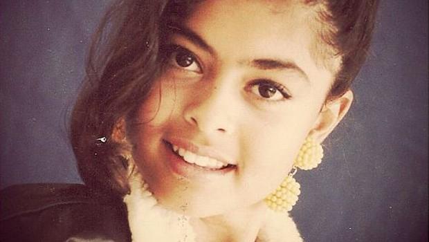 Juliana Paes aos 10 anos (Foto: Reproduo Instagram)