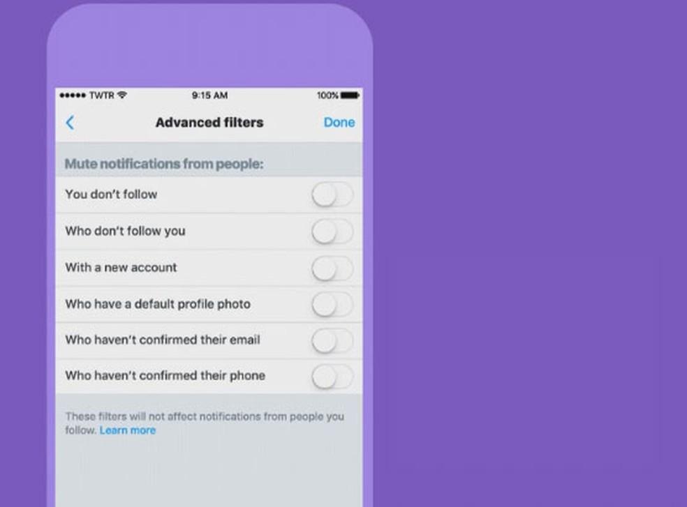 Usuários do Twitter poderão silenciar contas desconhecidas (Foto: Divulgação)