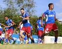 Com titulares poupados, Bahia divulga relacionados para partida de domingo
