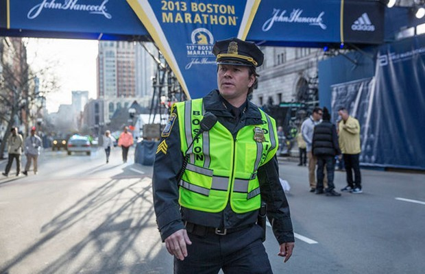 Mark Wahlberg em 'Dia de heróis', filme sobre o atentado na Maratona de Boston (Foto: Divulgação)