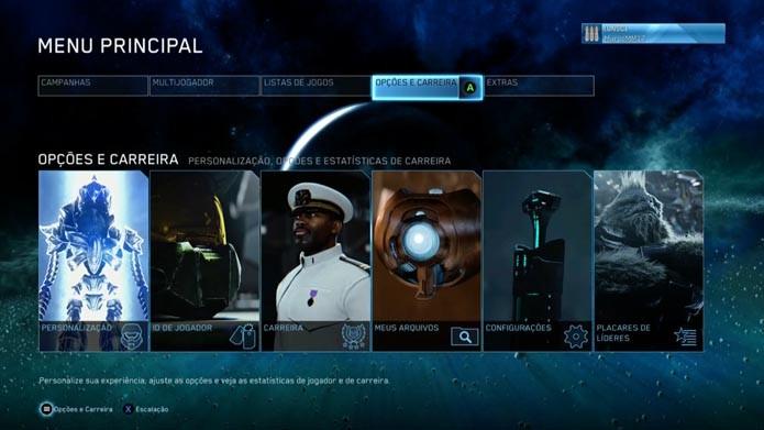 Halo Master Chief Collection: como personalizar seus personagens no game (Foto: Reprodução/Murilo Molina)