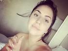Lady Gaga faz selfie sem maquiagem: 'Simplesmente eu'