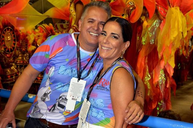 Gloria Pires e Orlando Morais (Foto: Cristina Granato)