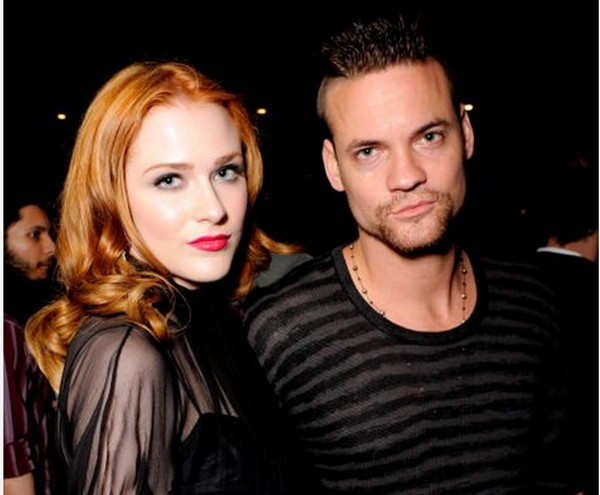Evan Rachel Wood e Shane West  (Foto: Getty Images)