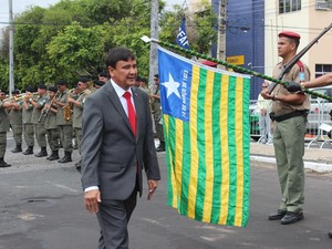 Wellington Dias toma posse como governador do Piauí (Foto: G1)