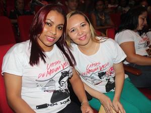 Detentas e amigas Adriana Santos e Ana Cristina Barros (Foto: Ellyo Teixeira/G1)