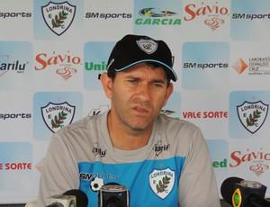 Claudio Tencati, técnico do Londrina (Foto: Pedro A. Rampazzo/Site oficial do Londrina)