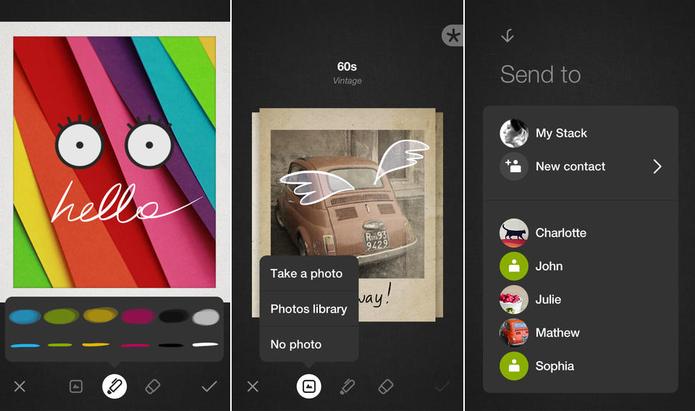 Bamboo Loop transforma fotos do celular em lindos cartões digitais (Foto: Divulgação)