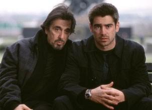 """Al Pacino e Colin Farrell em """"O Novato""""  (Foto: Divulgação/TV Globo)"""