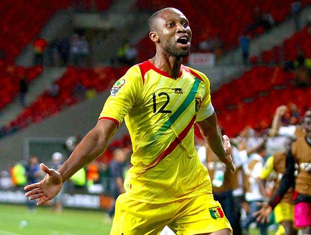 Seydou Keita na partida da seleção de Mali (Foto: Getty Images)