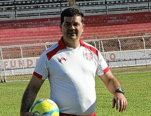 Roderlei Pachani, novo técnico do Palmeira-RN (Foto: João Rosan)