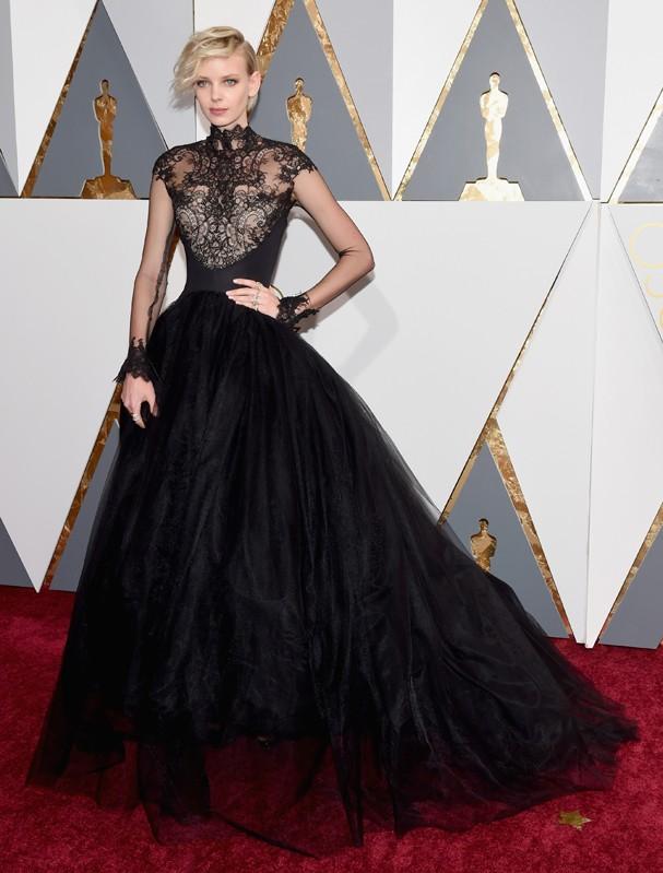 Dorith Mous no Oscar 2016 (Foto: Getty Images)