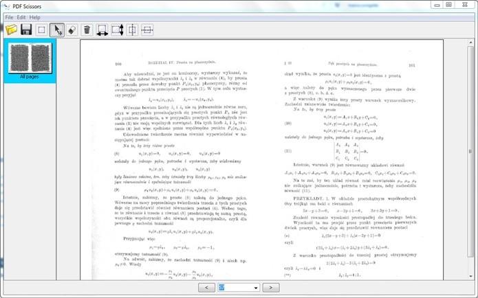 PDF Scissors faz cortes em documentos PDFs (Foto: Divulgação)