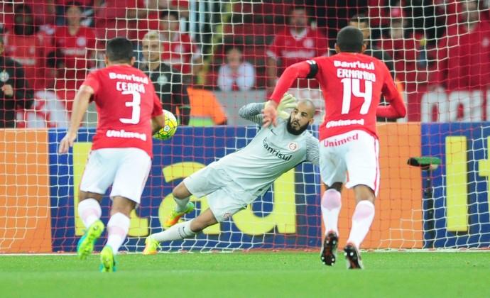 Danilo Fernandes salva Inter contra o Coritiba (Foto: Ricardo Duarte / Inter, DVG)