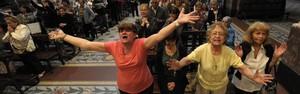 Buenos Aires tem gritos de 'viva o Papa' e vigília na Catedral (Juan Mabromata/AFP)