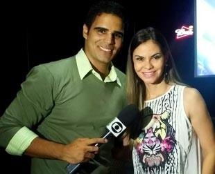 No Giro desta sexta-feira (27) Helder Vilela conversa com a cantora Lilly Araújo (Foto: TV Clube)