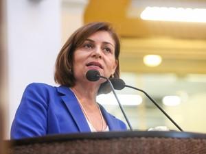 Deputada Estadual Simone Santana, de Pernambuco (Foto: Rinaldo Marques/Alepe)