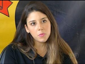 Delegada da Polícia Federal diz que suspeito pode ser liberado após pagar fiança (Foto: Reprodução/TV Anhanguera)