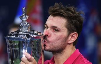 Senhor das finais, Wawrinka vira sobre Djokovic e conquista 3º Grand Slam