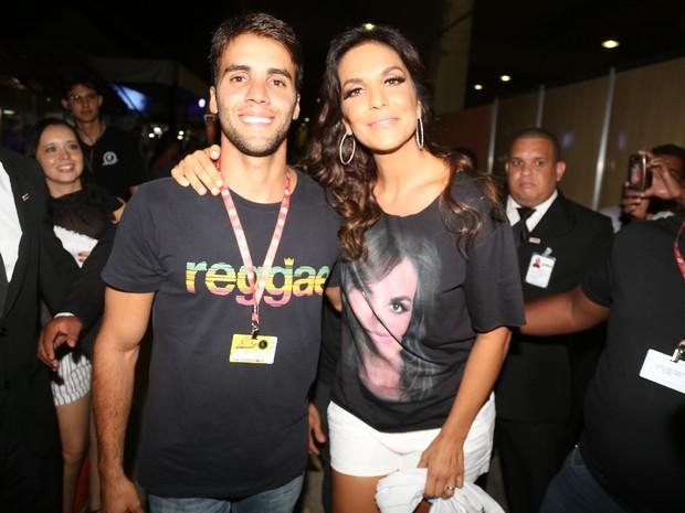 Ivete Sangalo e o marido (Foto: Fred Pontes/ Foto Rio News)