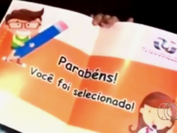 Veja quem são os cinco finalistas do Concurso Cultural Jornalista Mirim, em Goiás (Foto: Reprodução/TV Anhanguera)