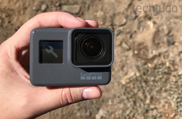 Novas câmeras da GoPro chegam ao Brasil com interface em português (Foto: Anna Kellen Bull/TechTudo)