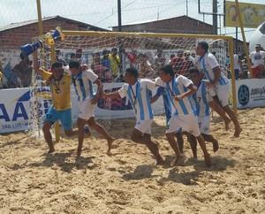 Humberto de Campos - campeão futebol de areia Maranhão 2014 (Foto: Bruno Alves)