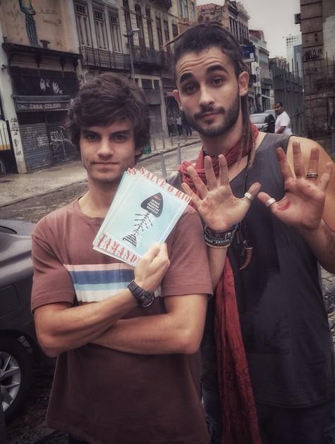 Daniel Blanco e Gabriel Reif  (Foto: Arquivo pessoal)