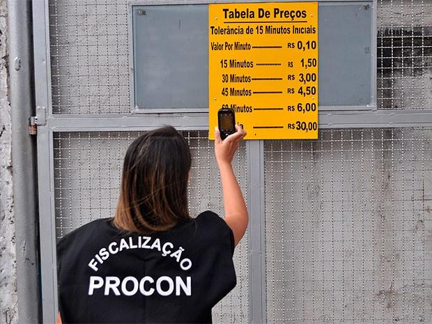 Estacionamentos são autuados pelo Procon; conheça seus direitos na BA (Foto: Divulgação/ Procon-BA)