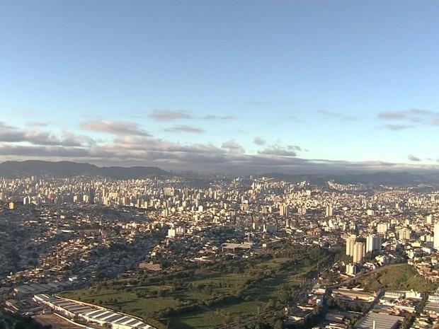 Madrugada em Belo Horizonte tem mínima de 8,9°C. (Foto: Reprodução/TV Globo)