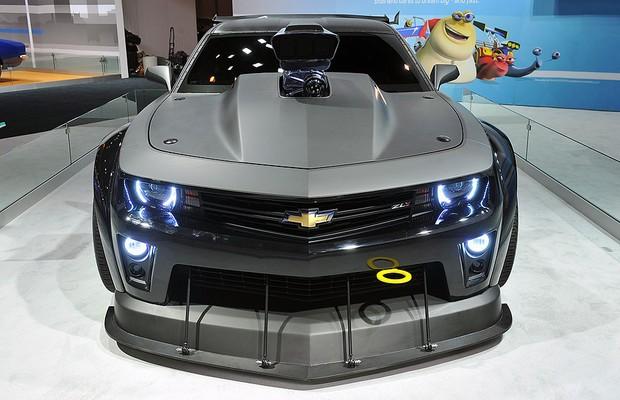 """Chevrolet Camaro """"Turbo"""" foi criado por conta da animação de mesmo nome, que estreia em julho (Foto: Divulgação)"""