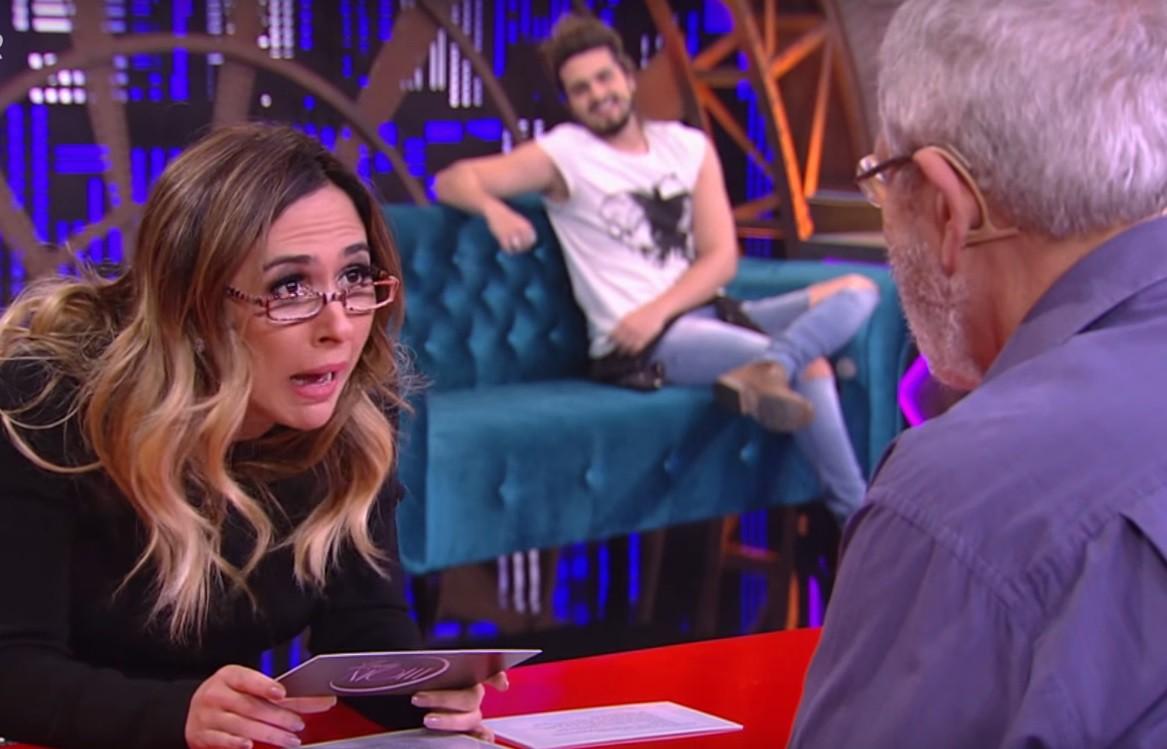 Tat Werneck enlouqueceu os especialistas com as perguntas mais inusitadas na segunda temporada de Lady Night (Foto: Multishow)
