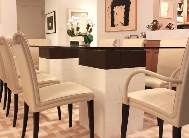 Até a mesa de jantar pode ganhar um toque moderno com estas peças (Foto: Divulgação)