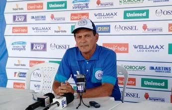 Com Paulo Roberto internado, São Bento será comandado por auxiliar