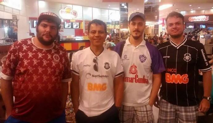 Desportiva, Rio Branco-ES e Vitória-ES foram representados no Camisaço (Foto: Divulgação)