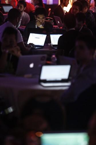 Aplicações para web também ganham forma e funções ao longo do Hack in PoA (Foto: Cristiano Sant'Anna)