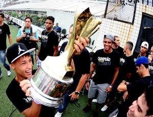 Santos taça Copinha estádio (Foto: Marcos Ribolli / Globoesporte.com)