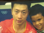 Fã de tênis de mesa, brasileiro coloca nome do ídolo chinês Ma Long no filho