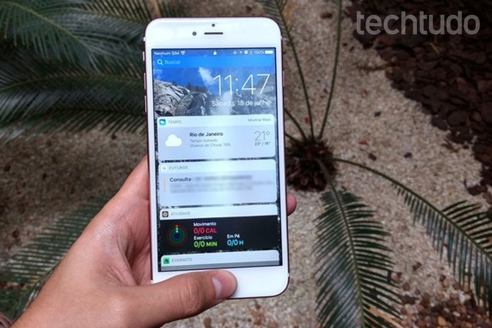 Confira algumas dicas para economizar bateria no iOS 10 (Foto: Thássius Veloso/TechTudo)