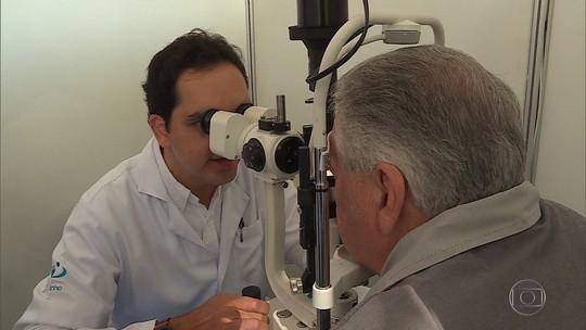 Exames gratuitos de prevenção à cegueira são realizados na Pça. da Liberdade, em BH