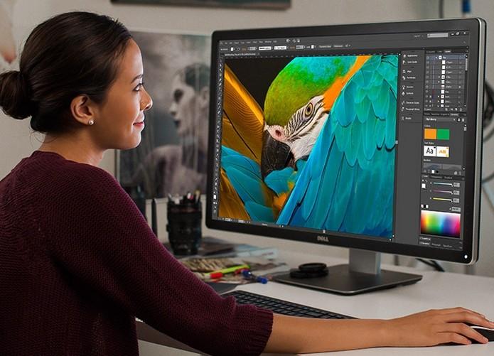 Monitor Dell UltraSharp Premier Color UP3216Q (Foto: Divulgação/Dell)