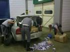 Polícia Rodoviária apreende baterias e carregadores sem nota fiscal