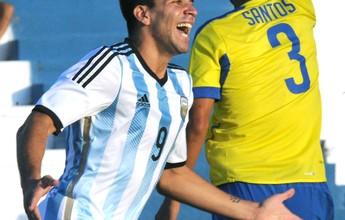 Filho de Simeone faz dois, e Argentina estreia com goleada sobre o Equador