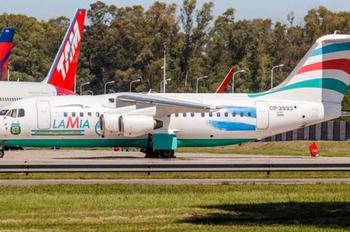 Avião Argentina Belo Horizonte (Foto: Reprodução/olé)