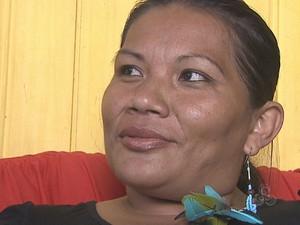 Francisca Arara, professora indígena (Foto: Reprodução/TV Acre)