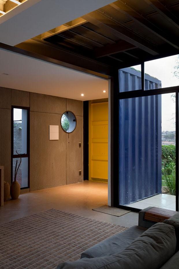Casa cont iner sustent vel inovadora e tecnol gica for Casas de container modernas